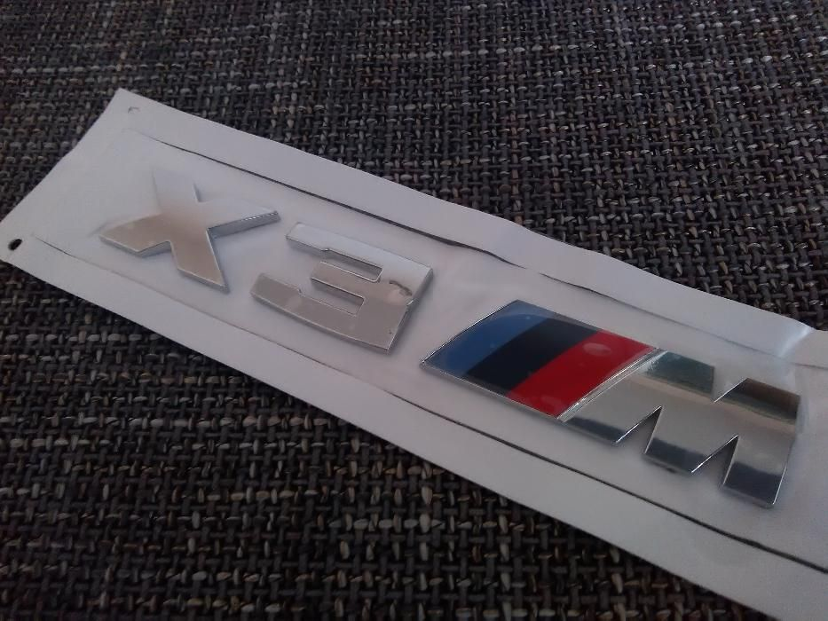 Emblema BMW X3M spate abs