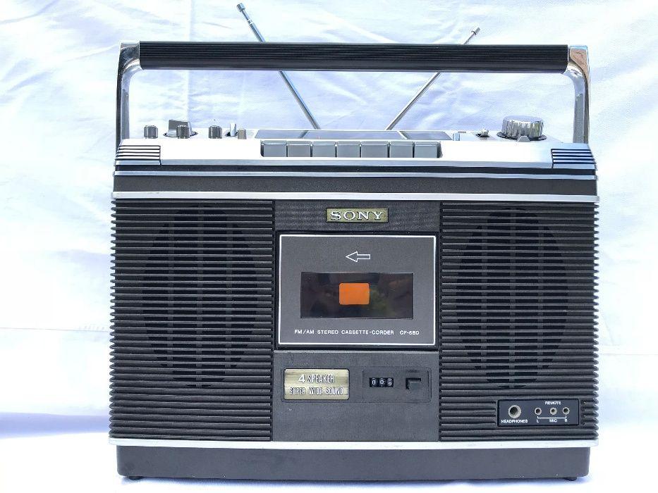 Radiocasetofon Sony CF-580 RAR
