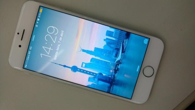 Vendo meu iPhone 6 semi novo, sem ID - 16 Giga