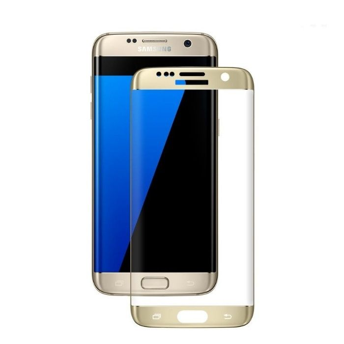 Folie Sticla Securizata Curbata 3D Samsung S7 Edge S6 EdgeS6 Edge Plus