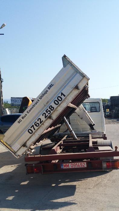 inchiriez,miniexcavator ,masina cu basculare 3 parti,mini dumper