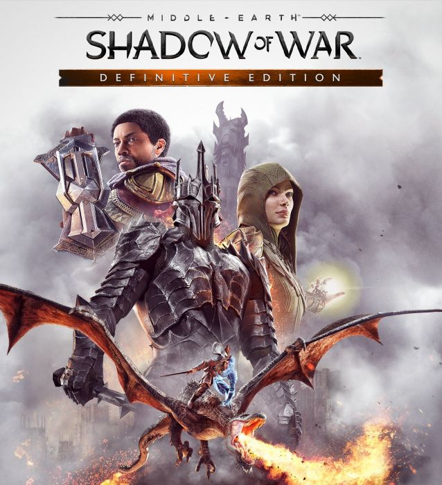 Middle earth shadow of war para PC