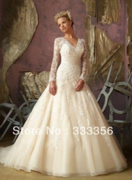 Абсолютно НОВОЕ свадебное платье с длинным рукавом