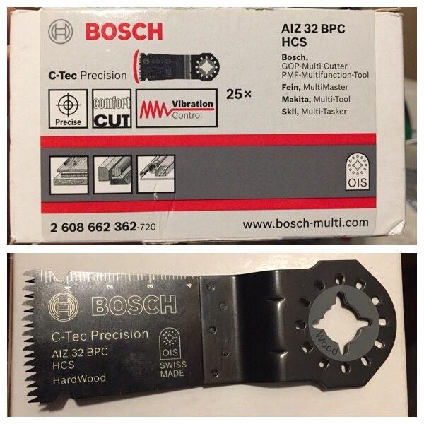 Bosch panza fierastrau multicutter AIZ 32 BPC HCS lemn de esenta tare