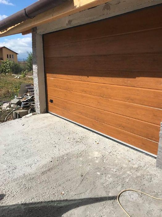 Usi de garaj 2400*2150 Stejar Auriu