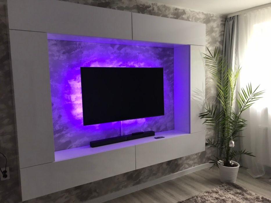 Kit LED RGB USB 5V backlight ambilight iluminare ambientala TV 60LED/m