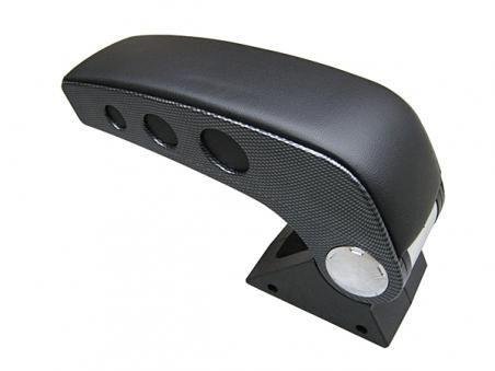 Подлакътник универсален три цвята карбон ,черен,сиво модел 006