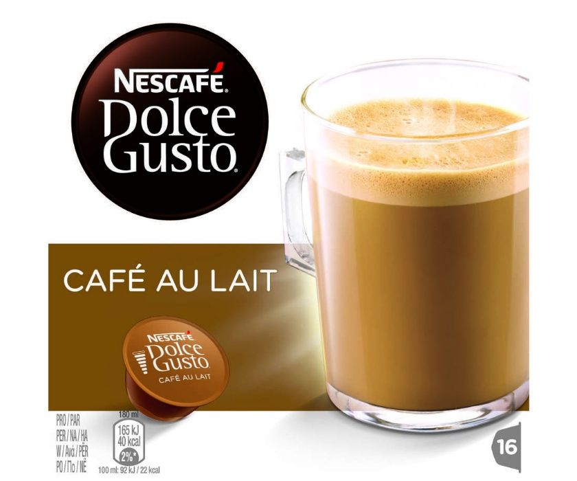 capsule cafea cu lapte cortado NESCAFE DOLCE GUSTO 16 capsule/cutie