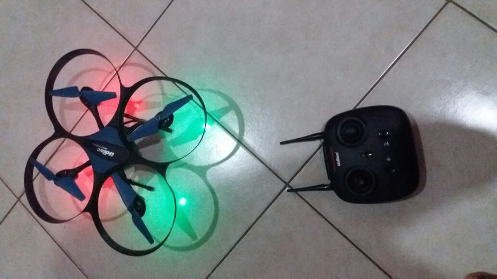 Drone com todos acessórios