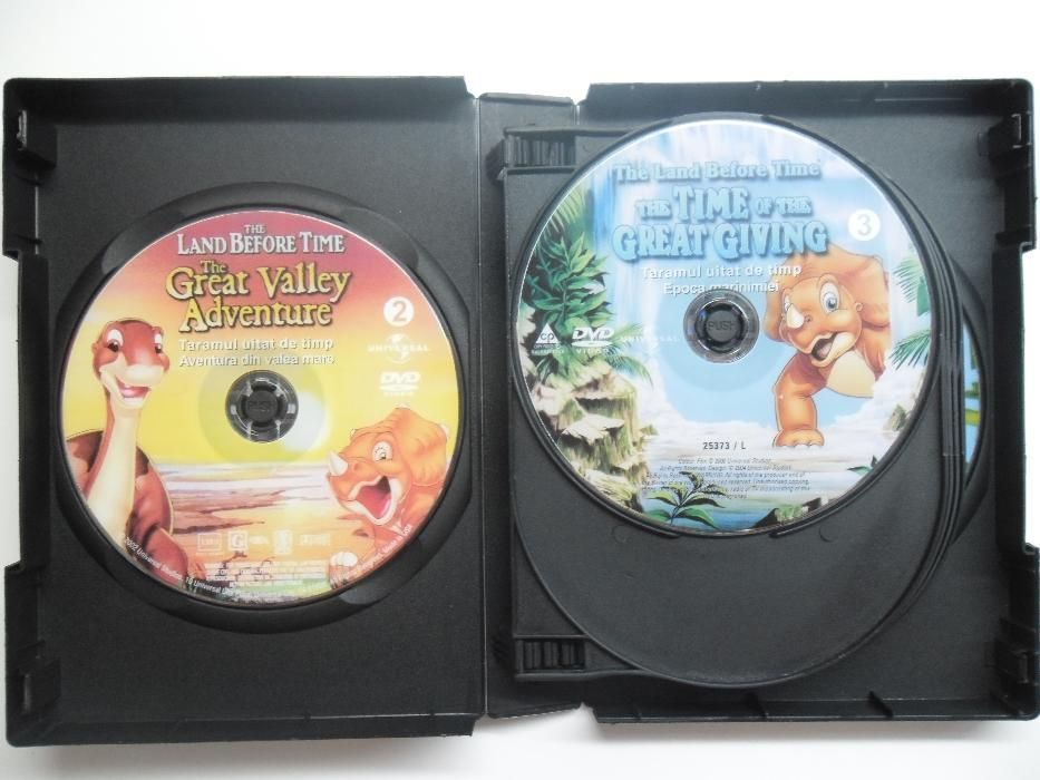 The land before time - Taramul uitat de timp - 12 dvd desene animate