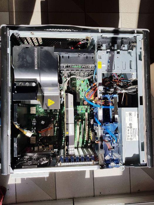 WorkStations Dell Precision T7500 мощен компютър+1xNVIDIAQuadro5000