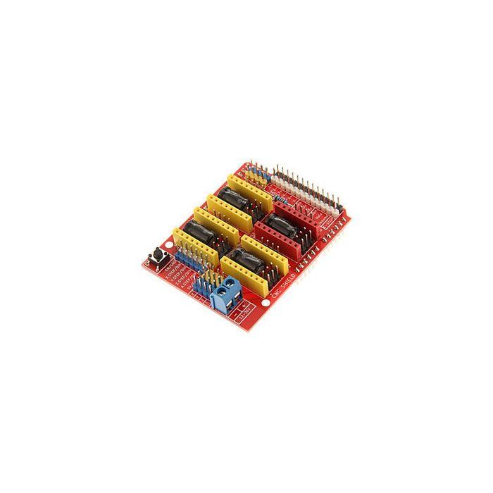 Shield UNO CNC Arduino ( suporta 4 axe)