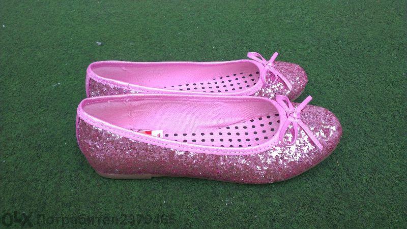 официални пантофки, обувки 34 номер