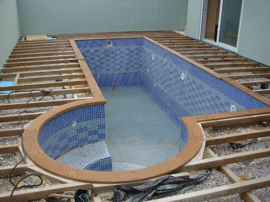 Construímos piscinas de raiz