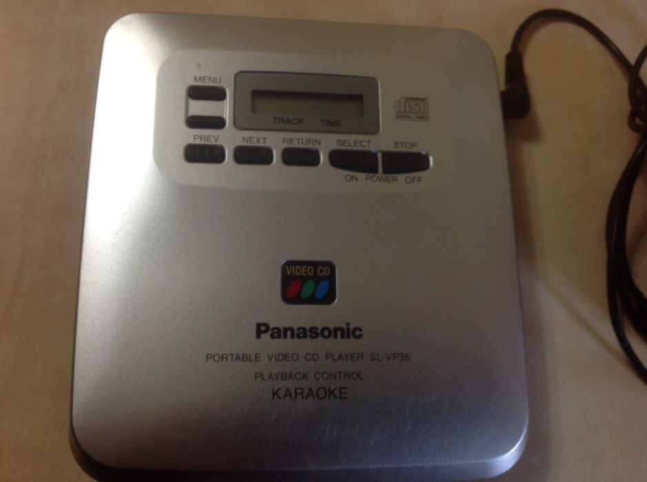 Vand CD player video portabil Panasonic