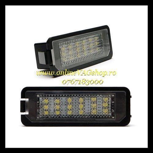 Set Lampa Led numar Golf 6, Passat B7 4D, Passat CC, Phaeton, Scirocco