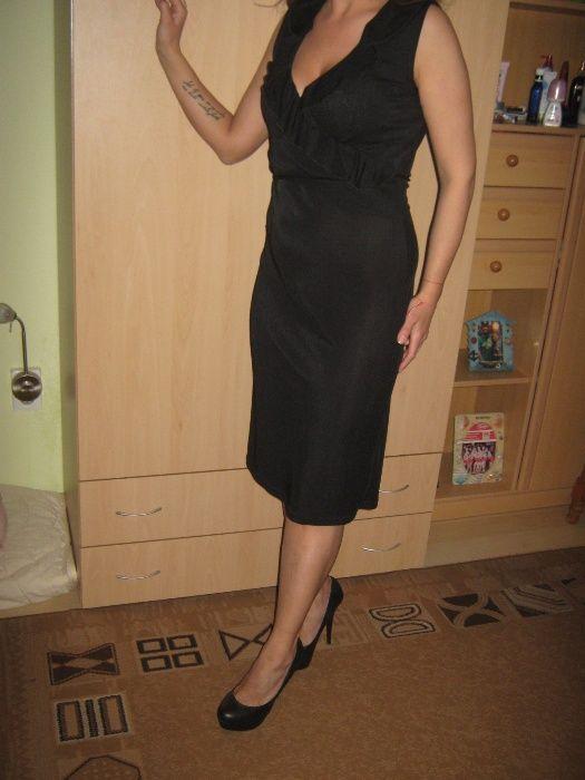 Стилна черна рокля Only