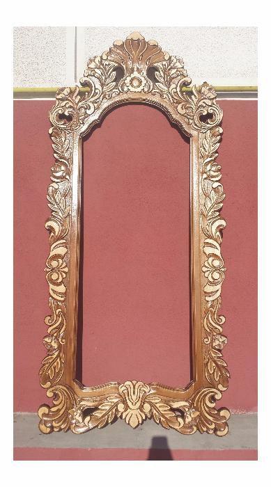 Rama de oglinda sculptata