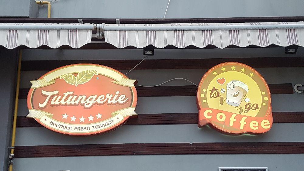 caseta luminoasa cu led , reclama , reclama cafenea, reclama bar, pub