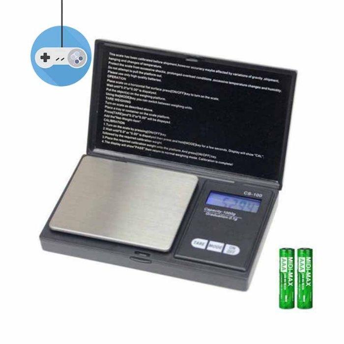 Дигитална бижутерска везна 500гр - 0.01 гр Top Scale