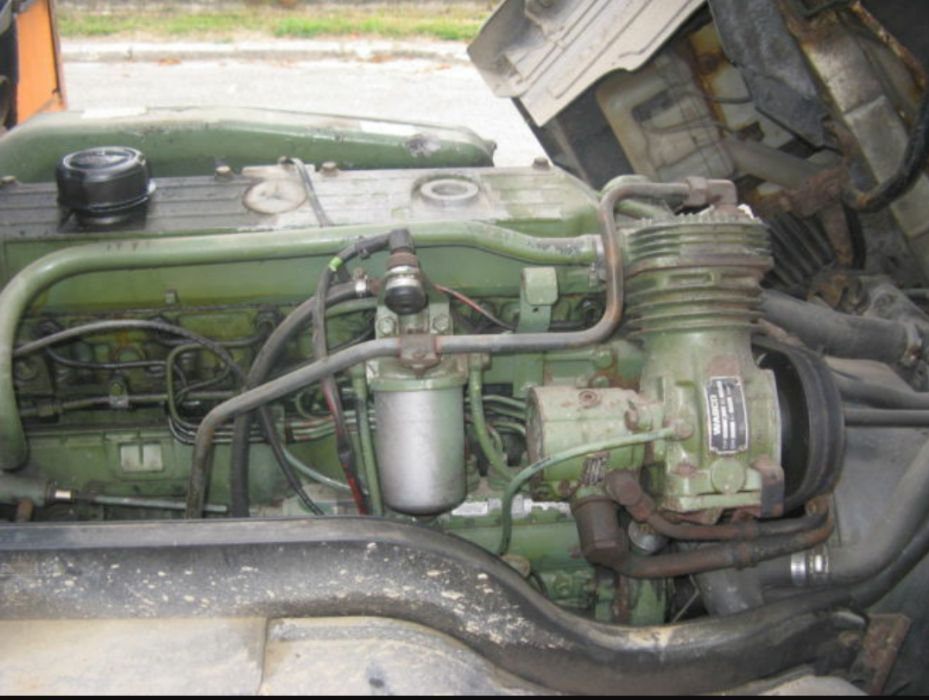 Двигатель на 814 Mercedes
