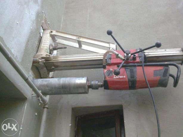Gaura hota , aerisire , carota , carotare beton Suceava.