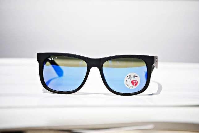 Ochelari de soare Ray ban RB4165 Justin INDICATI POZA