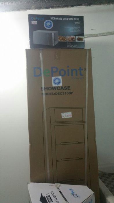 Expositores da marca depoint novos na caixa com garantia