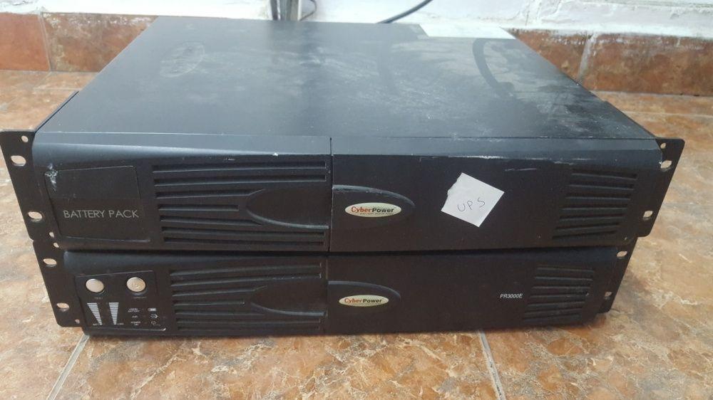 UPS CyberPower PR3000E + battery pack (FARA baterii / acumulatori)