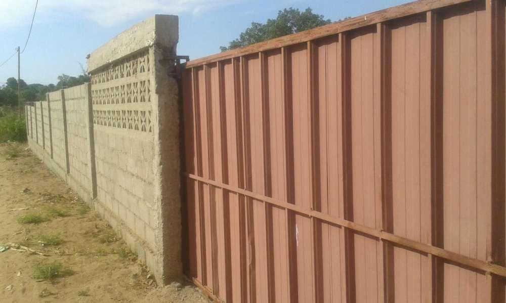 Vende se excelente terreno 30/45 vedado com portões a 500mtrs n4 tchm2