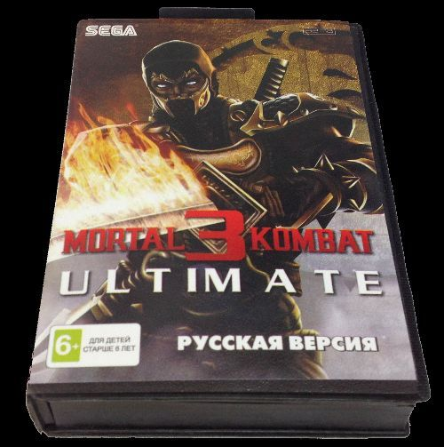 Mortal Kombat 3: Ultimate (Sega 16-bit) магазин GAMEtop