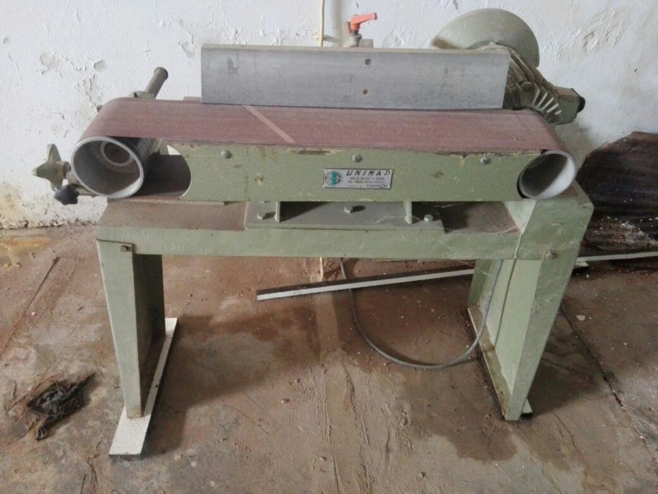 Lixadeira de bancada cinta 1850X180 Machava - imagem 1