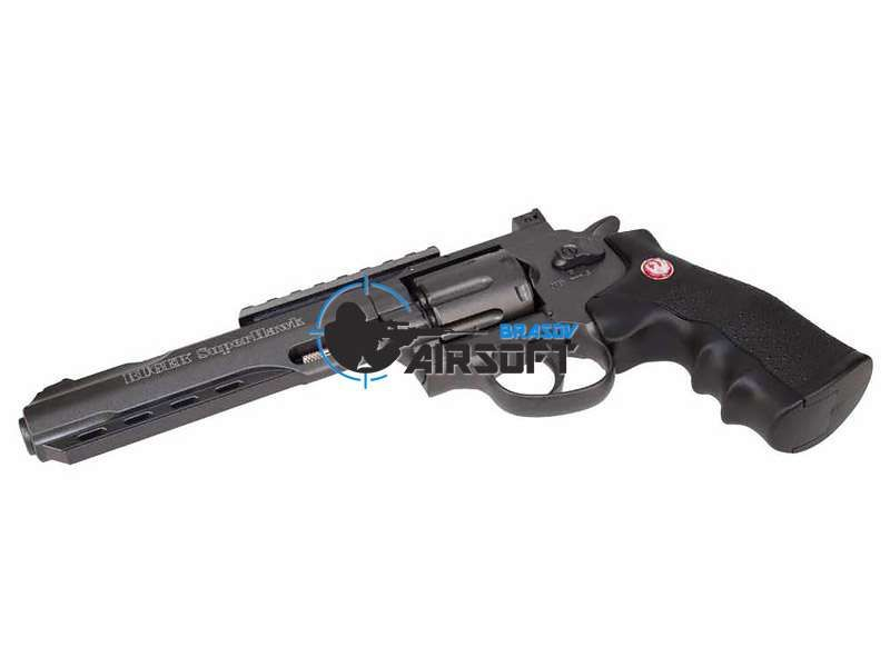 Revolver, Pistol Airsoft Replica Ruger SuperHawk 6i CO2 3Joule