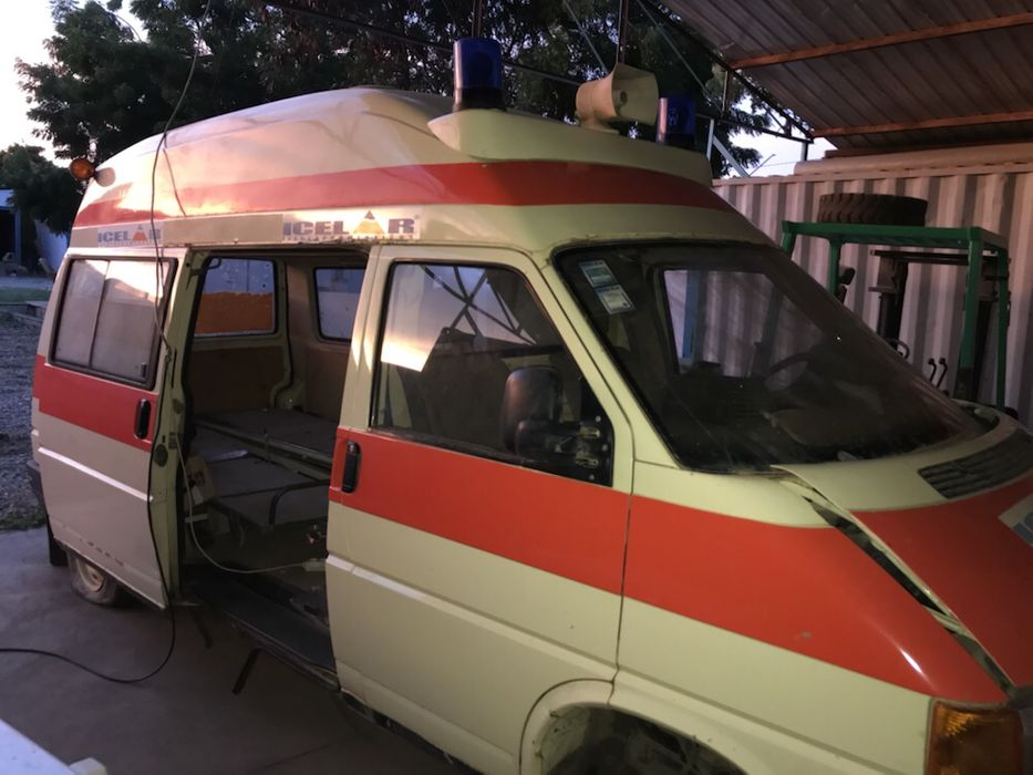 Ambulância sem motor - OPORTUNIDADE
