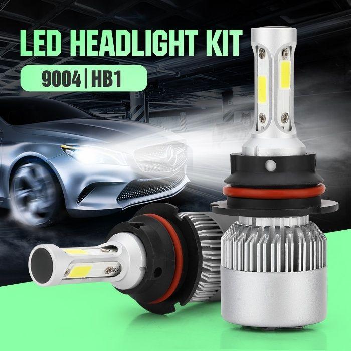 Разпродажба !!! LED системи за фарове H1,H4,H7, H11, лед крушки