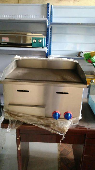 Vende Çhapa de Hambúrguer nova na Caixa a gás
