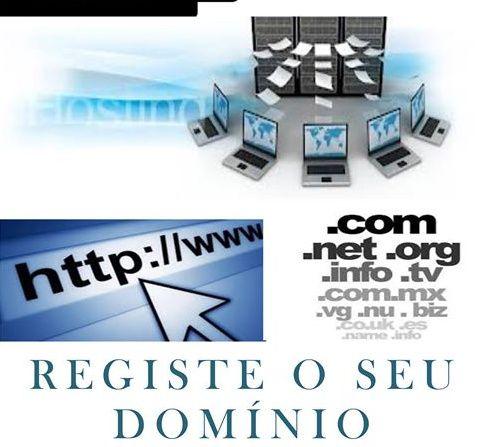 Registo de Domínio & hospedagem website