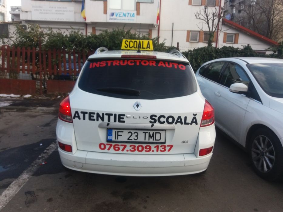 Instructor auto categoria B in Bucuresti, Ilfov si Giurgiu