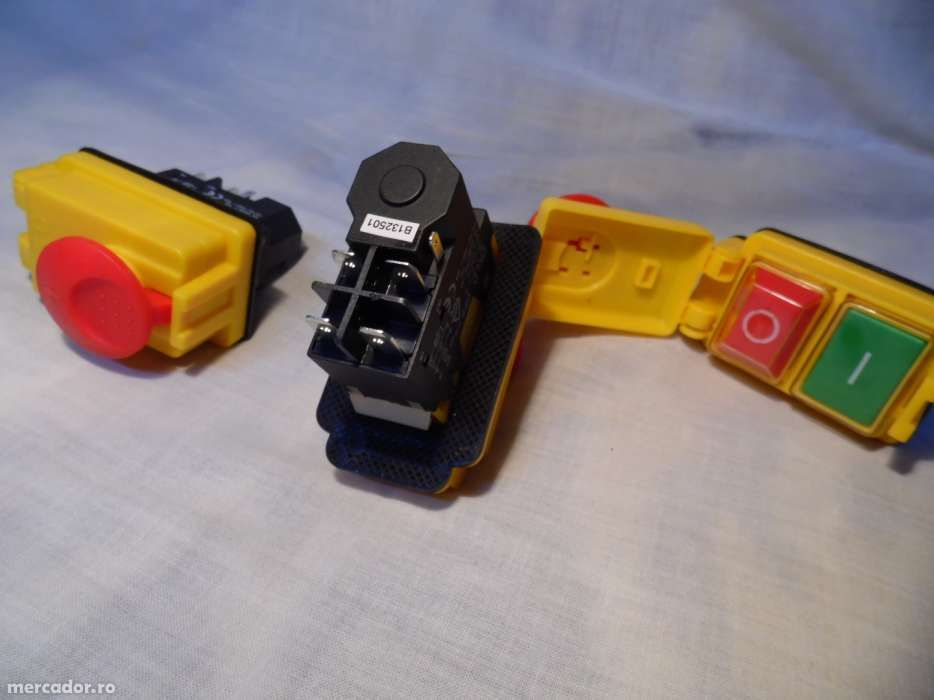 Intrerupator/buton pornire betoniera Limex sau utilaje