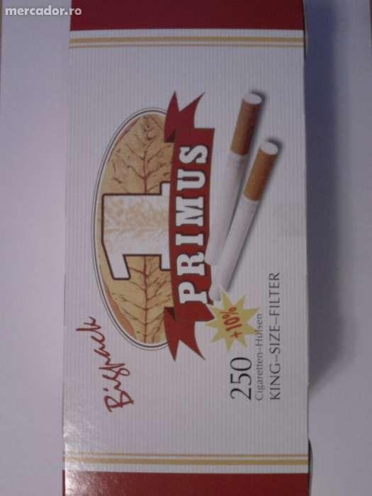 Tuburi tigari Primus Bigpack - 275 buc. la cutie pentru injectat tutun
