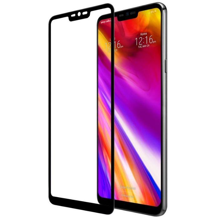 Закален удароустойчив 4D стъклен протектор за LG G7 ThinQ