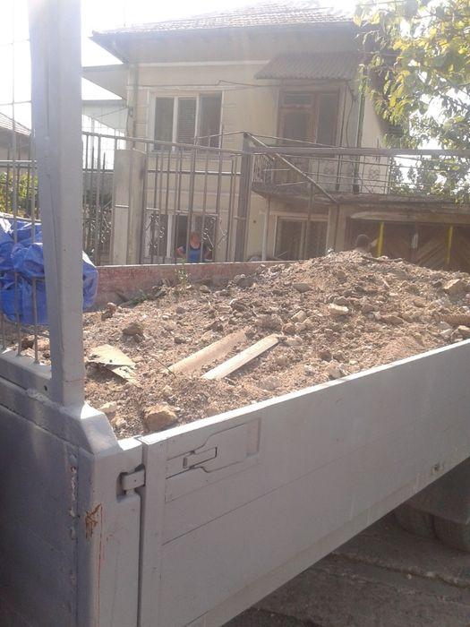 Извозване на строителен отпадък