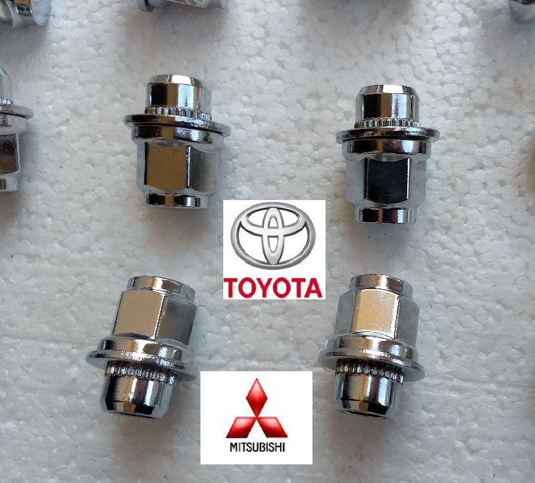 Piulite Toyota, Mitsubishi cu saiba plata M12 x 1,5 -jante Originale