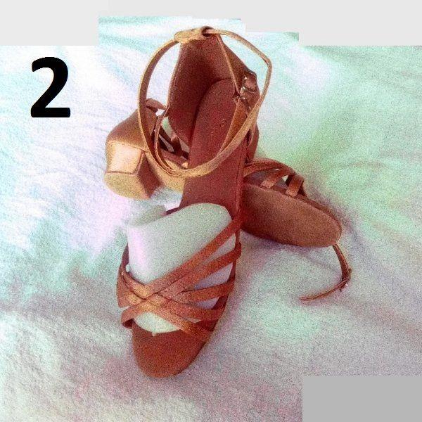обувки(момиче) за спортни танци,салса,кизомба,танго-сате гр. София - image 2