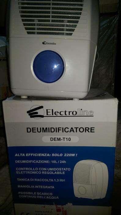 Dezumidificator electroline dem-t10, 10litri |24h (italia)
