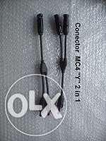 """Set conectori MC4 """"Y"""" pentru Panouri Solare Fotovoltaice """"2 in 1"""""""