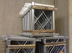 елементи за олекотен вертикален кофраж-дистанциал профили стяги