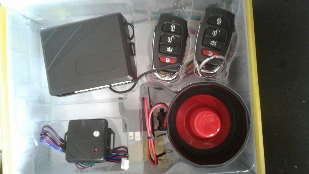 Instalação de alarmes para sua viatura