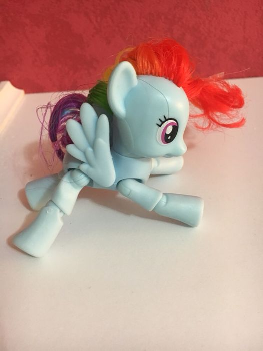 My Little Pony Rainbow flexibil ca nou