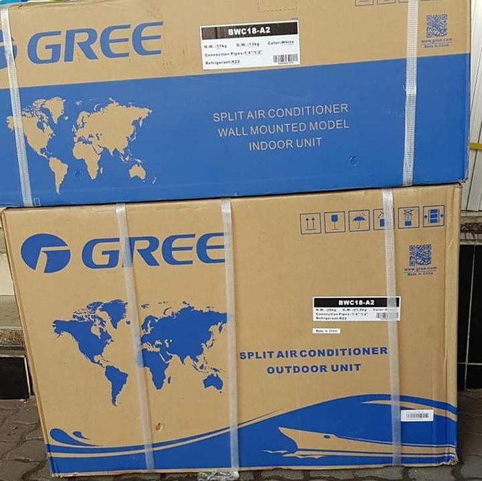 Ac Gree 9000BTU novos